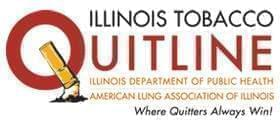 Illinois Tobacco Quitline logo