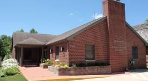 Village Administration Building in Mahomet, Illinois.