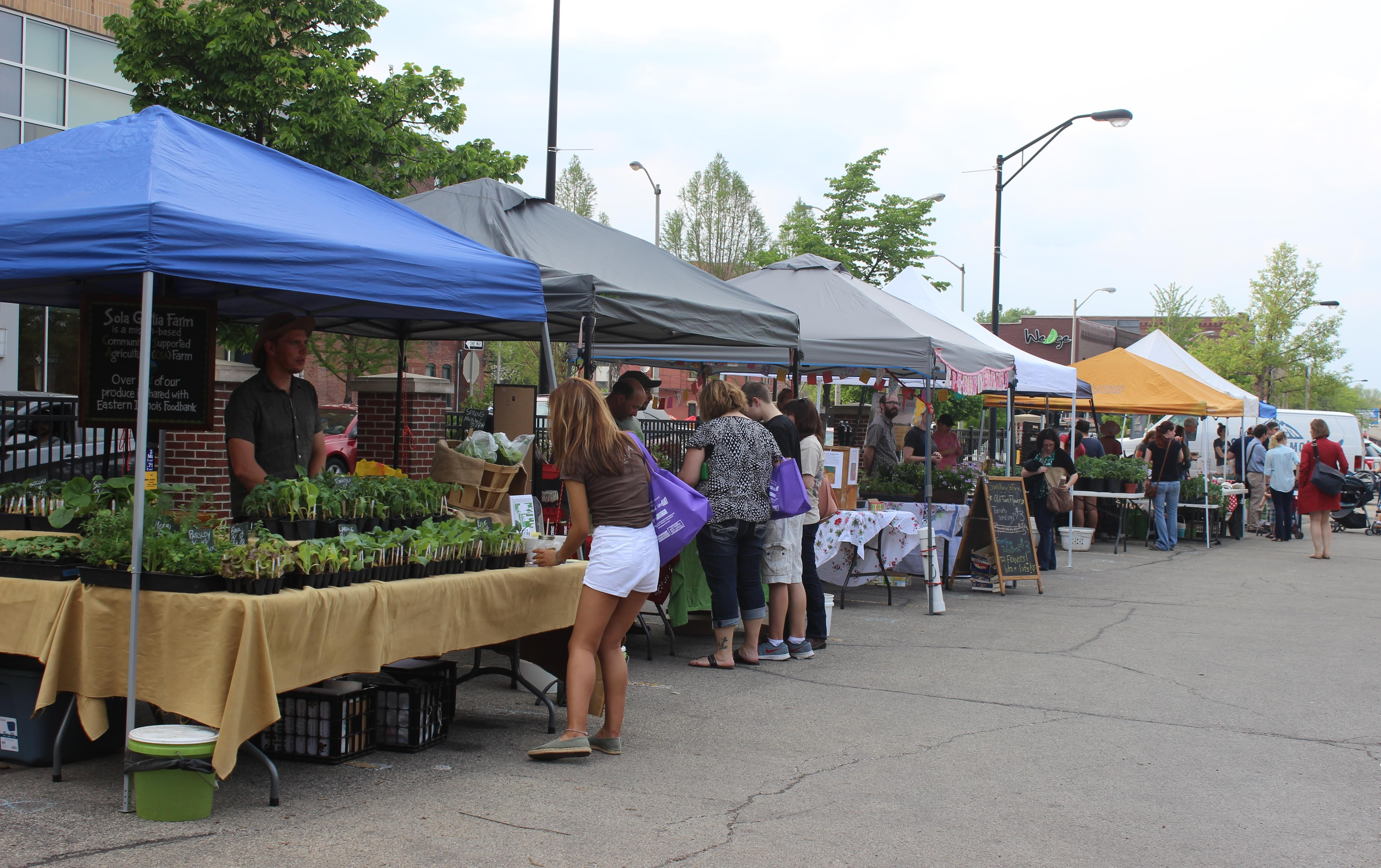 New Champaign Farmers Market Tries A Few Things Differently | News