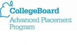 the logo for the College Board AP website