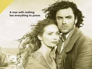 Captain Ross Poldark with Demelza