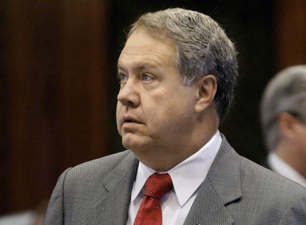 In this May 15, 2014 file photo, Illinois Rep. Jay Hoffman, is seen on the House floor at the Capitol in Springfield.  On Friday, he accused GOP lawmakers of skirting controversial votes.