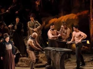 Scene from Il Trovatore