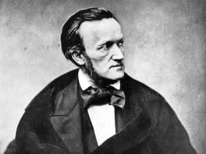 Illustration of composer Richard Wagner