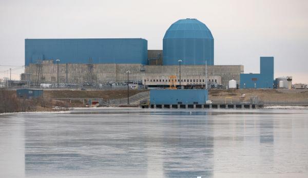 Exelon's Clinton nuclear power station.