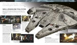 Millennium Falcon spread from Ultimate Star Wars