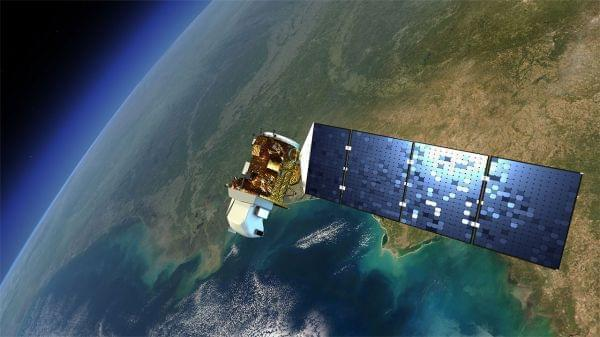 An artist's rendition of the next Landsat satellite, the Landsat Data Continuity Mission