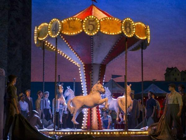 Image from the production of the musical Carousel.