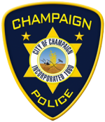 Shoulder patch logo for Champaign Police Department