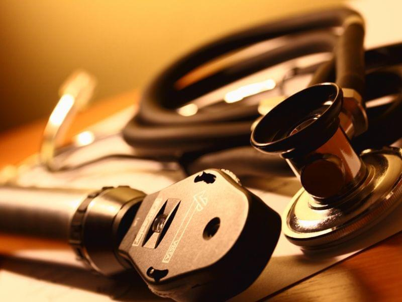 Generic photo of a doctor's stethoscope)