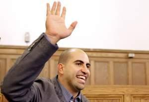 Steve Salaita at the University of Illinois last September.