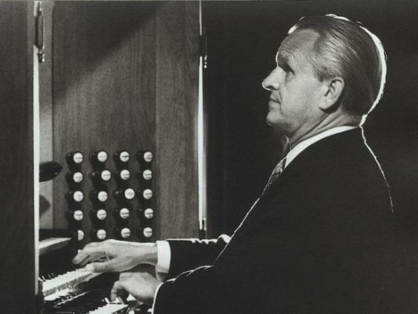 A man sitting at a piano