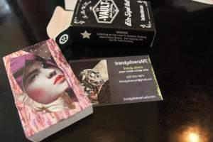 The bite-sized art machine vended this surprise, which came packaged in a custom The Vault box.