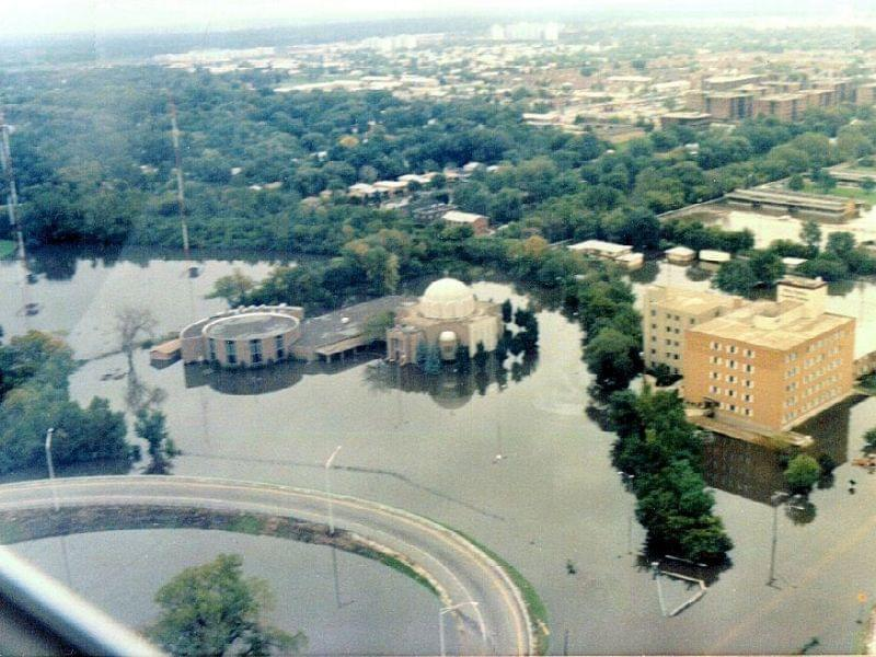 Flooding in Des Plaines