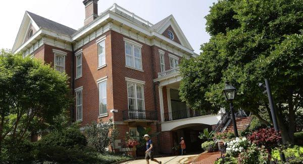 The Illinois Governor's Mansion in Springfield.