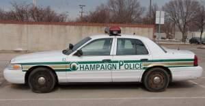 Champaign Police squad car