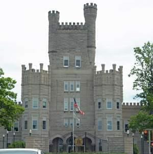 The administration Building at Eastern Illinois University, known as Old Main