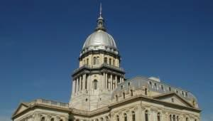 The Illinois Statehouse in Springfield