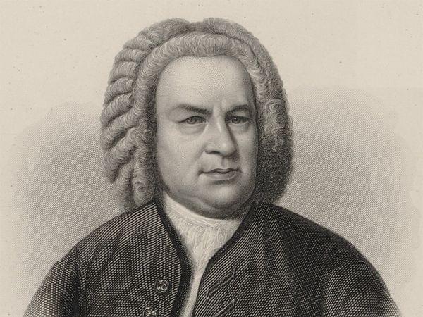 Illustration of J.S. Bach