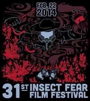 2014 Insect Fear Festival Poster