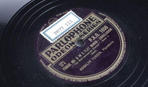Image of a phonograph record