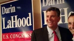 State senator Darin LaHood.