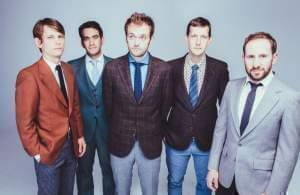 The Punch Brothers (Left to Right: Paul Kowert, Noam Pickelny, Chris Thile, Chris Eldridge, and Gabe Witcher)