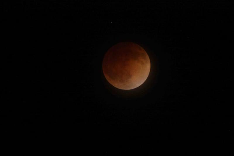 The United States was in a prime orbital position and time of day to view the eclipse on April 15, 2014. Depending on local weather conditions, the public got a spectacular view looking into the sky as the moon's appearance changed from bright o