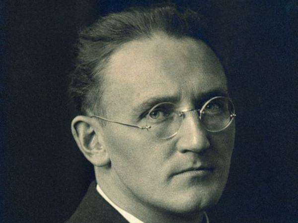 Conductor Hermann Scherchen