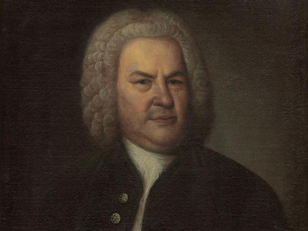 Painting of Johann Sebastian Bach