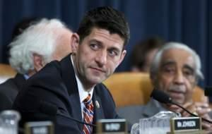 In this Wednesday, June 10, 2015, file photo, House Committee on Ways and Means Chairman Rep. Paul Ryan, R-Wis., presides over a committee hearing on Capitol Hill in Washington.