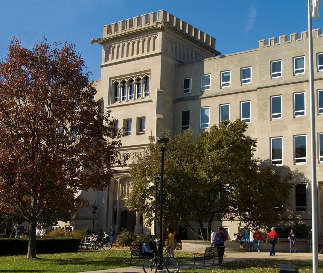 Bradley Hall at Bradley University in Peoria