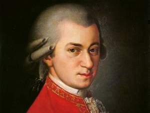 Portrait of Wolfgang Amadeusz Mozart