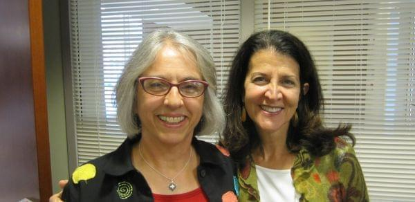 CU Cradle2Career co-directors Lee Ann Kelly and Denise Martin.
