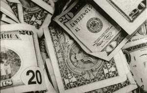 Coins and paper currency
