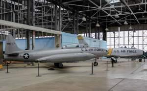 Planes on display at the Chanute Air Museum in Rantoul
