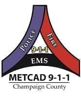 Champaign County METCAD 911 logo