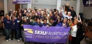 SEIU Healthcare union workers