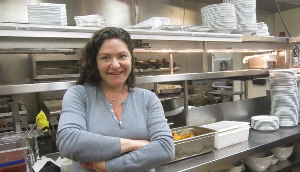 Executive chef Jessica Gorin of Big Grove Tavern, Champaign.