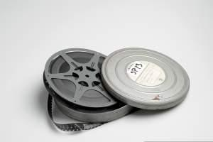 Film reel and container