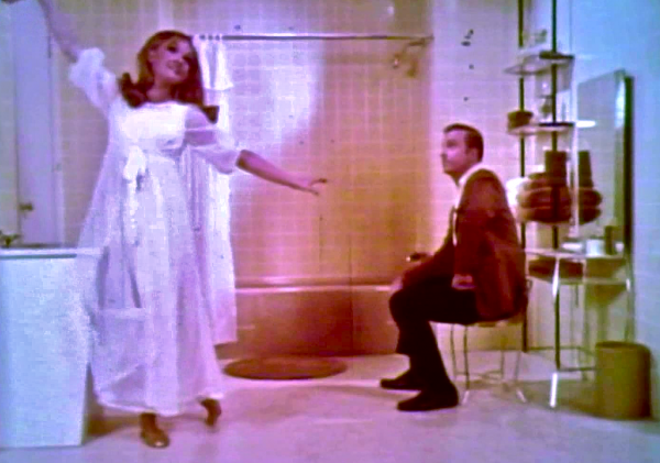 "Still picture from ""The Bathrooms are Coming"", the 1969 American-Standard Musical."