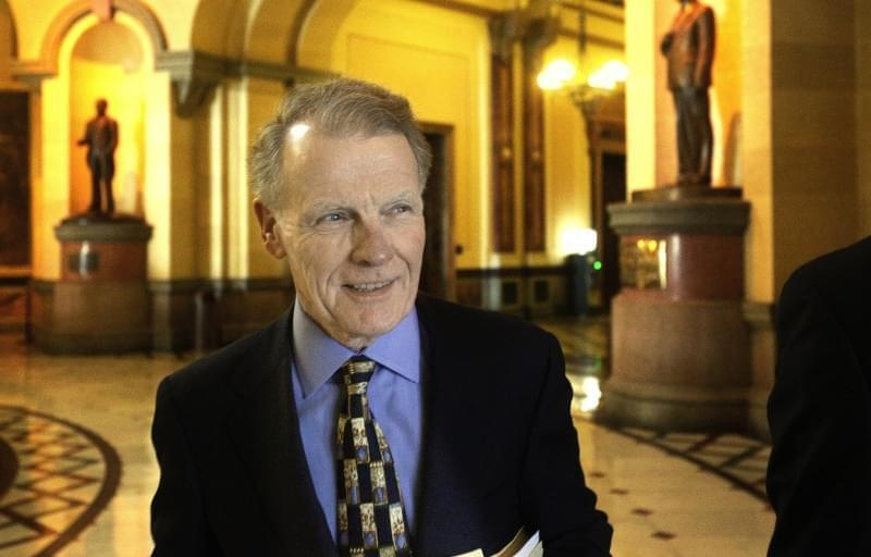 Illinois Speaker of the House Michael Madigan of Chicago at the Illinois State Capitol, December 1, 2015, in Springfield.