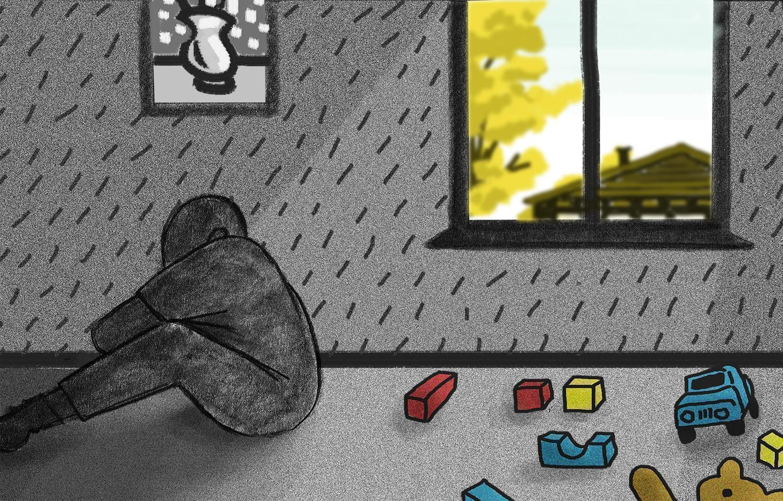 A graphic representation of depression