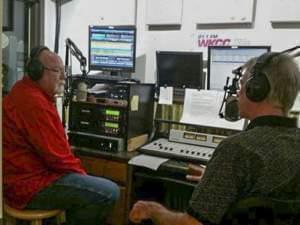 The studios of WKCC in Kankakee, IL.