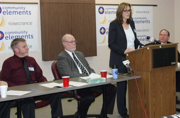 Community Elements CEO Shelia Ferguson discusses her agency's merger with Rockford-based Rosecrance.