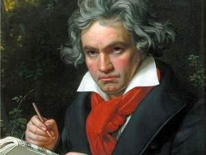 Painting of Beethoven