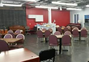 The inside of the new Phoenix Daytime Drop-In Center.