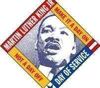 Logo for the Martin Luther King Jr. Day of Service