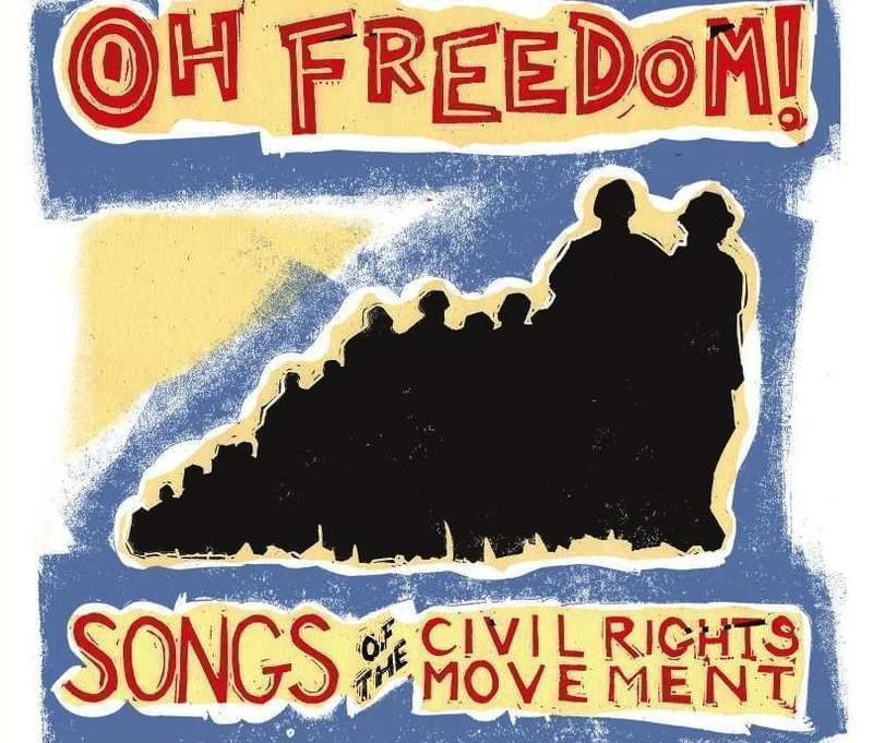 """Cover art for Chris Vallillo's new album, """"Oh Freedom! Songs Of The Civil Rights Movement""""."""