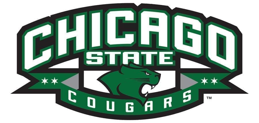 Chicago State University logo.